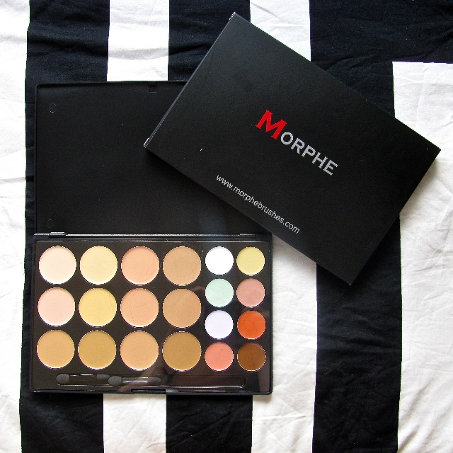 Morphe 20CON, Concealer, corrector and highlight palette NEW