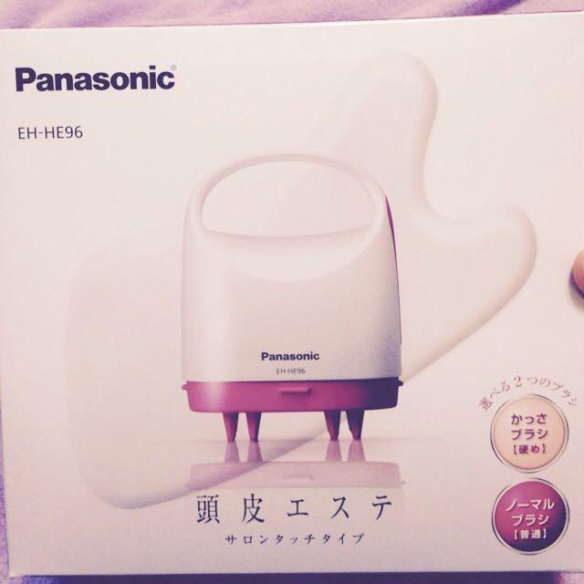 (搬家出清)Panasonic 頭皮Spa按摩器 EH-HE96