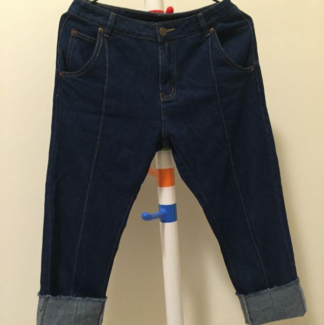 Pazzo 牛仔寬褲