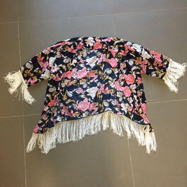 Will Fringe Kimono Size s