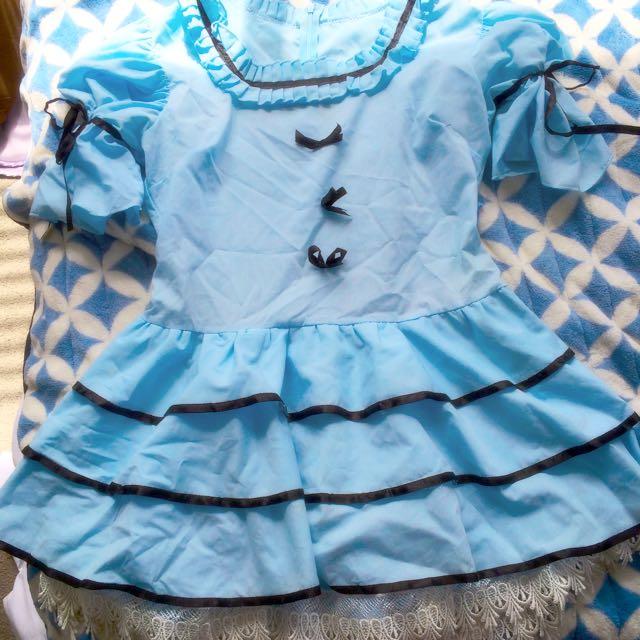 Womens Alice In Wonderland Costume