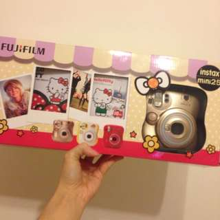 Fujiflim Instax Mini25 Hellokitty 拍立得