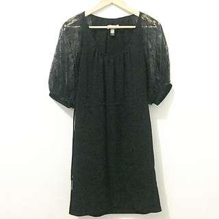 MANGO Black Dress - Preloved