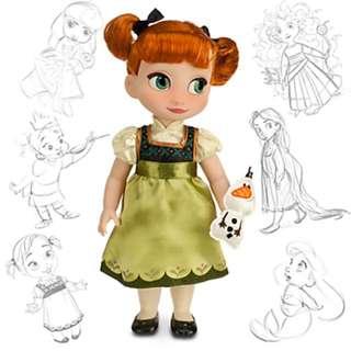 加拿大代購公主款冰雪奇緣安娜玩偶