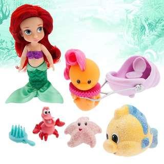 加拿大代購Disney迪士尼小版小美人魚Ariel玩偶