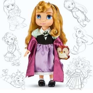 加拿大代購disney迪士尼公主系列小版睡美人Aurora玩偶