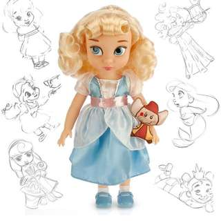 加拿大代購Disney 迪士尼公主系列灰姑娘Cinderella玩偶