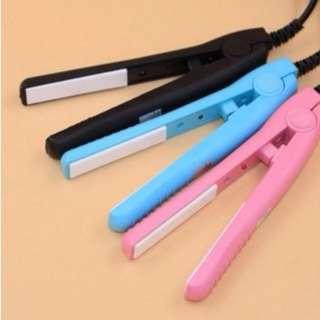 大量現貨 隨身迷你版離子夾 直捲兩用 迷你直髮器 捲髮器 便攜燙髮器 捲髮棒