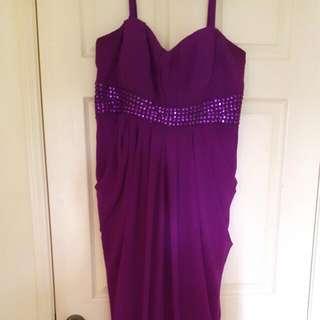 Violet Formal Dress