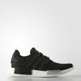 "Adidas W NMD R1 ""Core Black"" |S79386 UK 5.5"