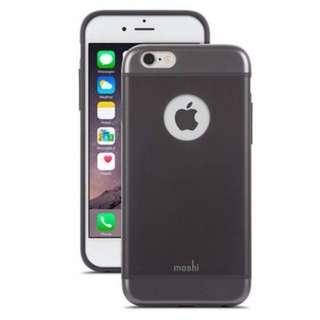 iPhone 6 6s moshi iGlaze 超薄時尚保護殼 黑