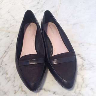 Hush Puppies Size 7 Leather Flats