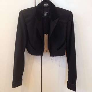 NEW Ksubi Cropped Blazer Size M