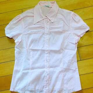 條紋狀OL襯衫