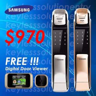 LATEST 2016 MODEL!! SAMSUNG DIGITAL LOCK P728