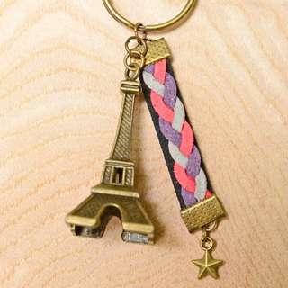 ❤️巴黎鐵塔鑰匙圈