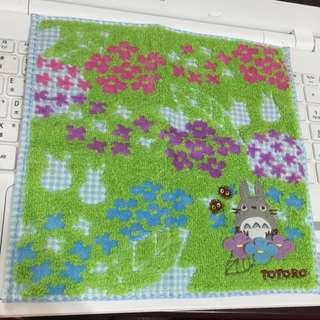 龍貓方巾✨日本帶回