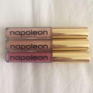Napoleon Perdis 0.7ml Lip Gloss Trio