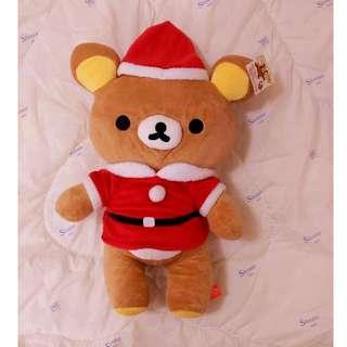 全新✿Rilakkuma拉拉熊/懶懶熊/鬆弛熊玩偶/娃娃✿聖誕節✿出清