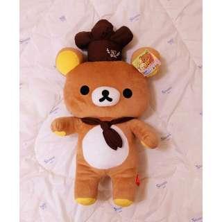 全新✿Rilakkuma拉拉熊/懶懶熊/鬆弛熊玩偶/娃娃✿廚師✿出清