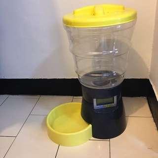 寵物 自動餵食器