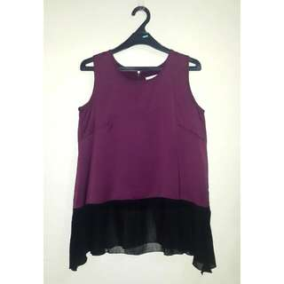 Cotton Ink Sleveless Top