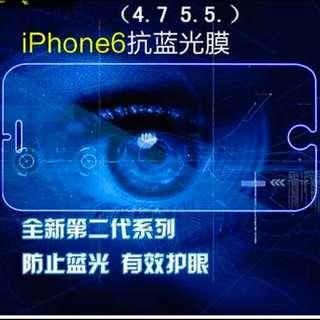 🌟🌟iPhone 6/6s plus抗藍光鋼化玻璃膜,護眼特賣中~