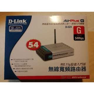 D-Link DI-524 無線基地台 AP 54 Mbps