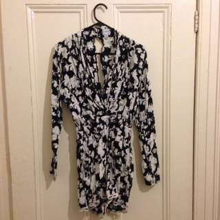 Finders Keepers Playsuit Size 8