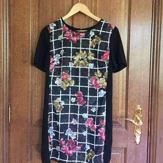 Fitted T-shirt Dress Size S-M