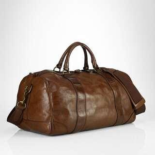 Ralph Lauren Full Leather Duffle Bag