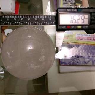 水晶球-白-直徑約7.6公分