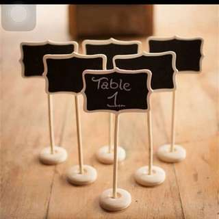 Brand New Mini Chalkboard For Parties or Weddings