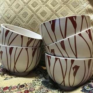 海芋陶瓷碗