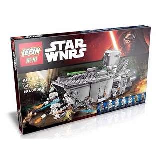 樂拼05003 星際大戰 原力覺醒 運兵艦 Transporter /與LEGO相容/非樂高75103