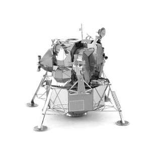 【阿齒】DIY 3D金屬模型 阿波羅登月艇 / 另售巴黎鐵塔 姬路城 雪梨歌劇院 3D金屬拼圖