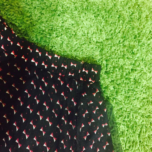 蝴蝶結ㄅㄛˊ紗の短短裙🎀