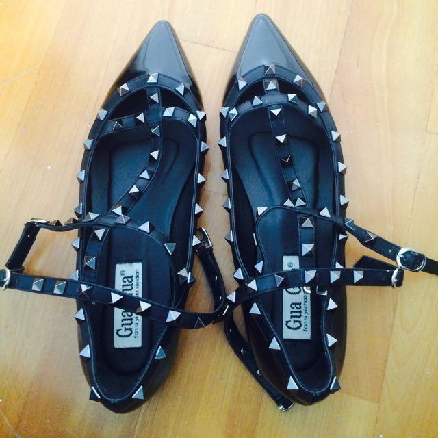 平底卯釘鞋