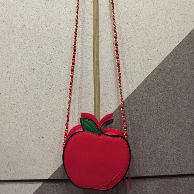 [關島購買]小蘋果金鏈包