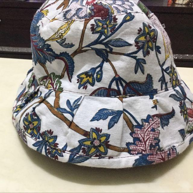 印花漁夫帽