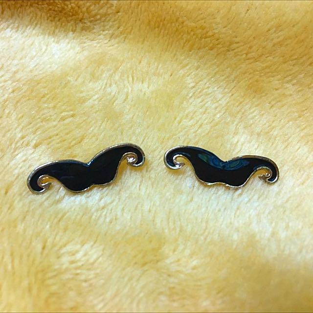 俏鬍子耳環