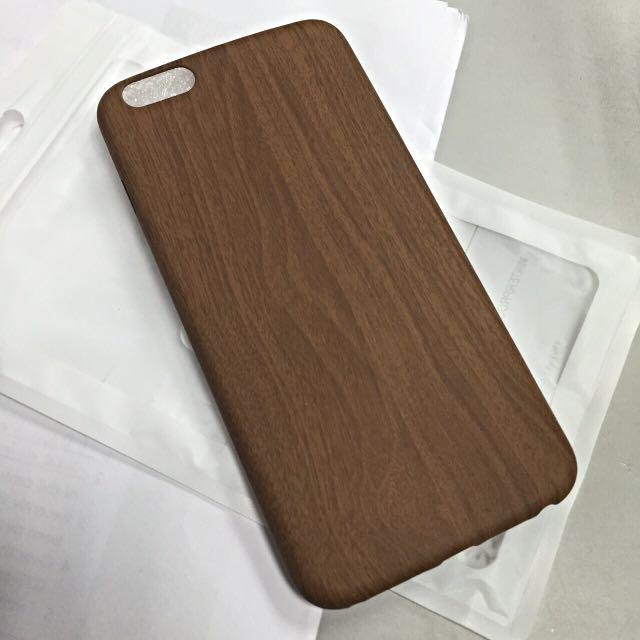 木紋手機殼 6/6s Plus