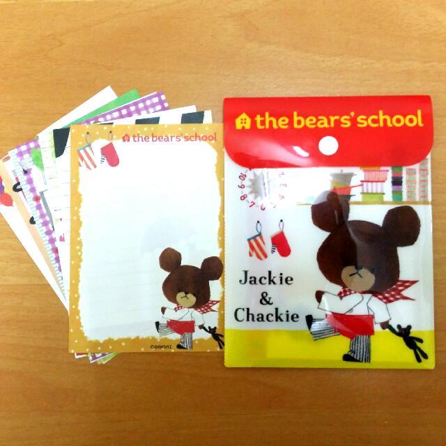 小熊學校 便條紙