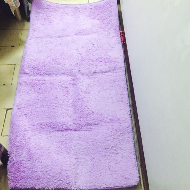 粉紫色 地墊 地毯
