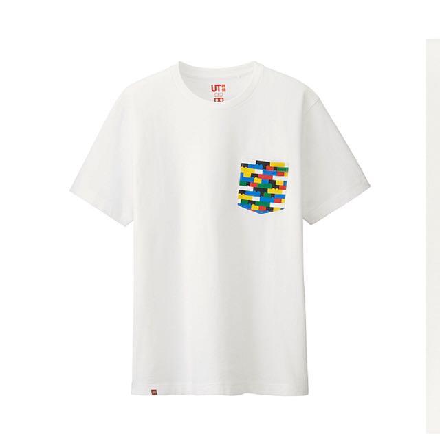 (全新免運送樂高人偶) Uniqlo LEGO 印花T恤 短T 素T