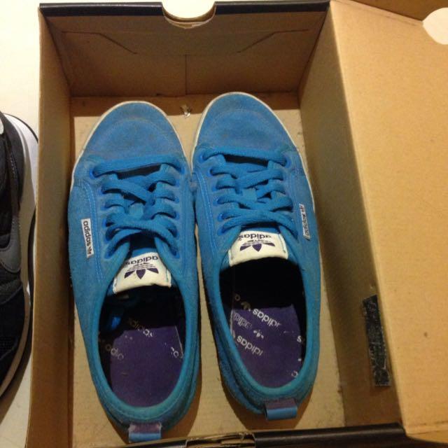 全館大降價❗️二手adidas麂皮鞋23.5號