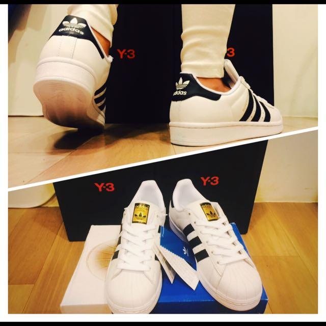 adidas superstar 金標
