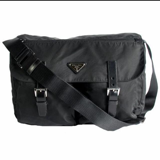 700081cff900 ... shop price reduced brand new prada tessuto messenger bag luxury on  carousell 624b1 48fe9