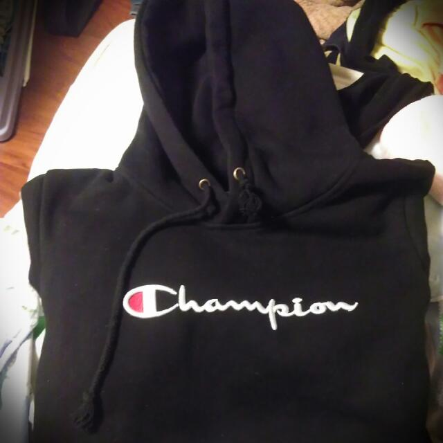 Champion帽T