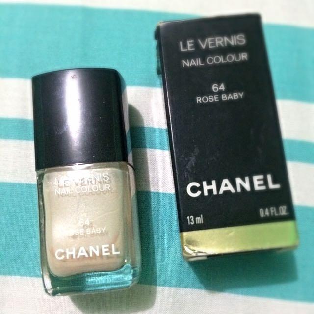 Chanel Nail Polish - Rose Baby